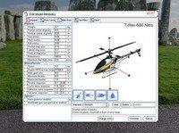 Экран настройки модели в симуляторе Phoenix Sim.